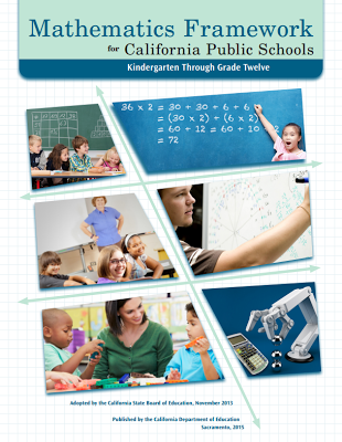 ca math framework cover