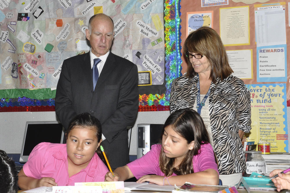 Governor Brown visit